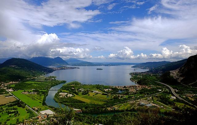イタリア マッジョーレ湖・コモ湖